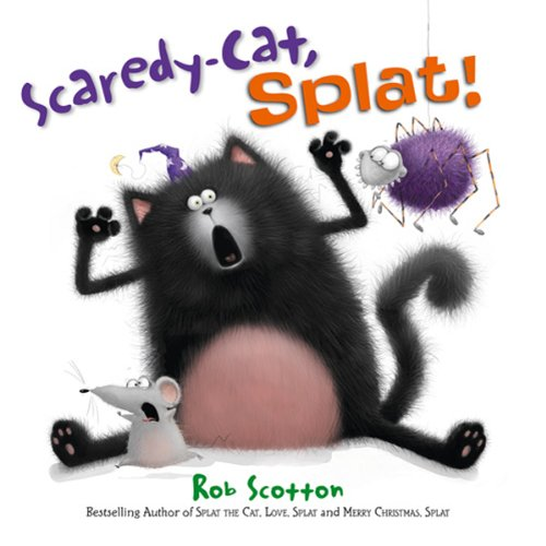 Scaredy-Cat, Splat! cover art