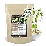 nur.fit by Nurafit BIO Erbsenprotein-Pulver 500g - natürliches veganes Proteinpulver mit 80% Proteingehalt – vegan Protein in zertifizierter BIO-Qualität mit essenziellen Aminosäuren