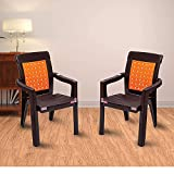 Product Dimensions: Length (47.5 cm), Width (49 cm), Height (83 cm) Primary Material: Plastic Color: Orange, Style: Modern No Assembly Required: The product is delivered in a pre-assembled state Warranty: 1 year on product. Multi-purpose chair which ...