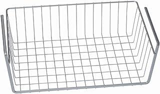 Metaltex 364840094 Corbeille à suspendre 40 cm Argenté