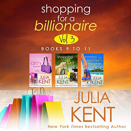 Shopping for a Billionaire Boxed Set audiobook cover art