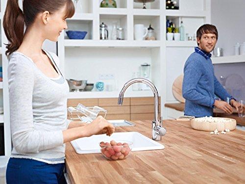 Grohe – Concetto Küchenarmatur, hoher Auslauf, Schwenkbereich 360°, Chrom - 7