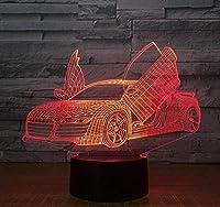 LED照明ギフトボックス3DナイトライトUSBマルチカラーデスクランプ家の装飾子供のためのクリスマスの誕生日プレゼント光沢