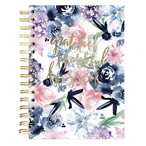 Graphique Religious Hard Bound Journal w/ Watercolor Flowers on Cover, Beautiful Introspective...