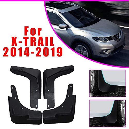 LDXCT 4er Set Schmutzfänger Spritzschutz vorne & hinten für Nissan X-Trail T32 Rouge 2014-2019,...