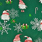 11,99€/m 100x160cm 100% Baumwolle Weihnachten