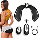 Gubana Abs Stimulator Hips Trainer,Electronic Hip Trainer,Smart Training Wearable Muscle Toner,Hip Trainer for Men Women