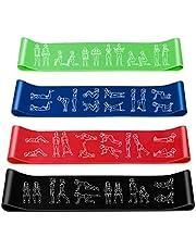 Amonax Fitnessbandenset, theraband, weerstandsbanden, gymnastiekband, trainingsbanden, terra band, weerstandsband voor sport, fitness, calisthenics, krachttraining, home gym
