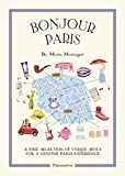 Best travel guide unique travel gift Bonjour City Map-Guides