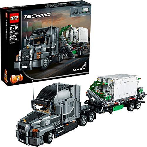 LEGO Technic Mack Anthem 42078 Semi Truck Building Kit and Engineering Toy for Kids and Teenagers, Top Gifts for Boys (2595 Pieces) (Discontinued by Manufacturer)