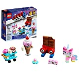 LEGO The LEGO Movie 2 Unikitty's Sweetest Friends EVER! 70822 Pretend Play Food and Friends Building Kit for Girls and Boys, Unikitty LEGO Set (76 Pieces) (Discontinued by Manufacturer)