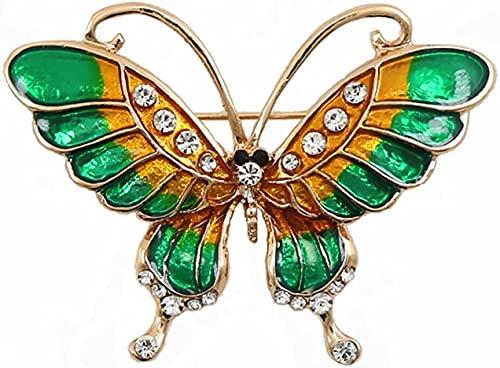 NZDY Broche Broche de la Mariposa de Moda de la Manera Del Pin Pin Esmaltado Accesorios de Ropa Animal de la Broche Nupcial Broche