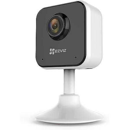 EZVIZ Wi-Fi Cámara de Vigilancia 1080p Interior, 2.4GHz IP FHD Cámara de Seguridad con Visión Nocturna, Audio Bidireccional, Monitor de Bebé, Detección de Movimiento, Compatible con Alexa, C1mini