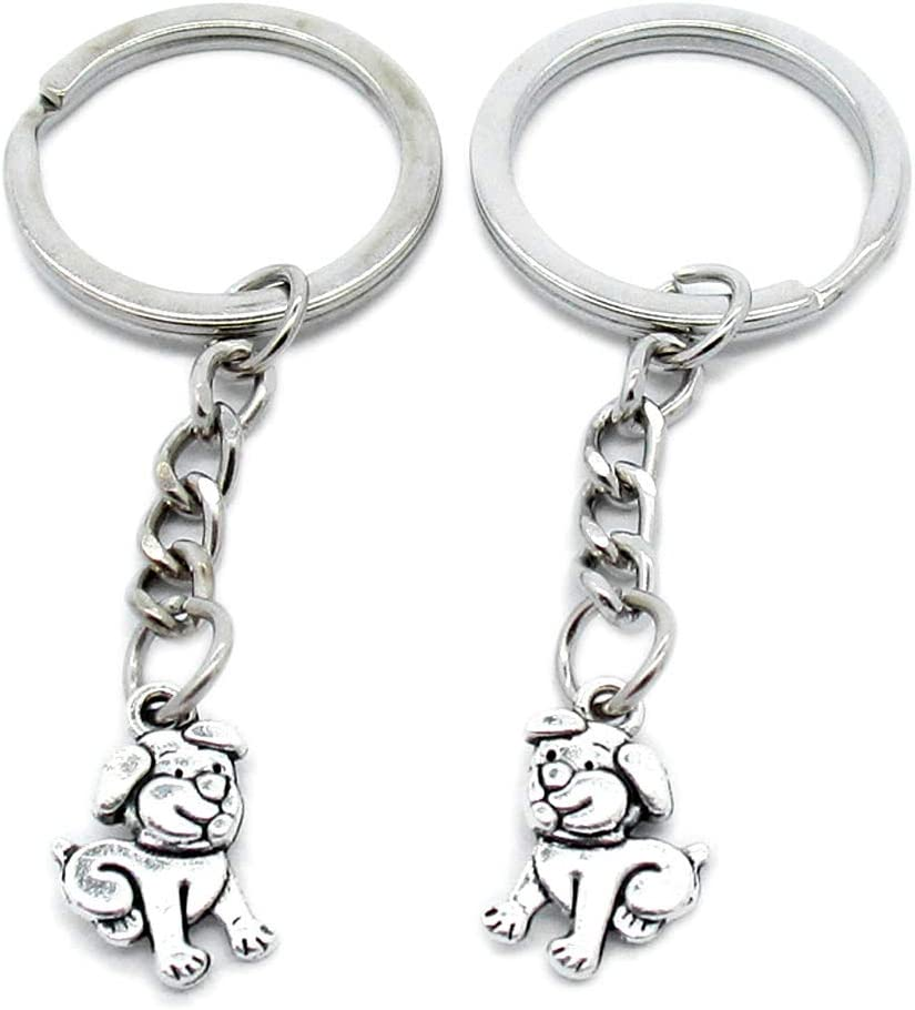 OFFicial store 100 Pieces Keychains trust Keyrings Party Favors Supplies P2 Wholesale