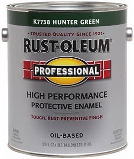 RUST-OLEUM K7738-402 Professional Gallon Hunter Green Gloss Enamel
