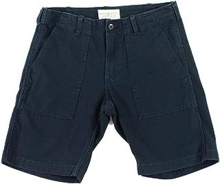 RALPH LAUREN Denim and Supply Mens Cotton Twill Utility Shorts Dark Navy