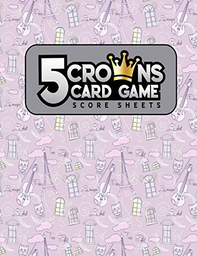 5 Crowns Card Game Score Sheets: 47