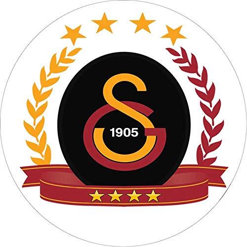 Galatasaray Runde Tortenaufleger 20CM - Geburtstag Tortenbild Zuckerbild Tortenplatte Oblate Kuchenzuckerplatte