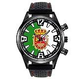 Timest - Bandera de Fuerteventura Islas Canarias España - Reloj para Hombre con Correa de Silicona Analógico Cuarzo SF537