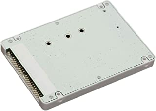 """D DOLITY M.2 NGFF SATA SSD to 2.5"""" IDE 44-Pin Adapter Card with Case Enclosure"""