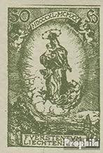 Liechtenstein 40U ungezähnt 1920 Birthday Johann II (Stamps for Collectors)