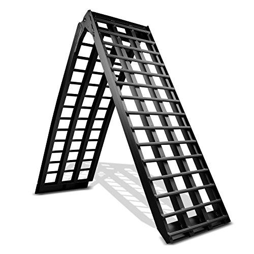 Rampa de Carga Kymco Agility City 125 R16, MAX 680 kg, Aluminio Negro