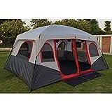 ZAOYUE Zelt Ultraleichtes wasserdichtes 8-10 Personen Campingzelt mit großem Pavillon