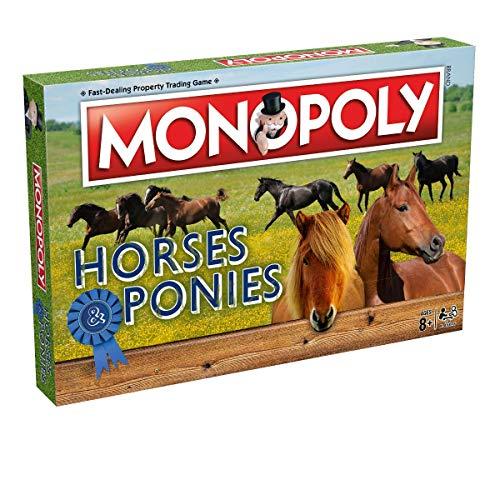 Winning Moves Caballos Y Ponis Monopoly Juego de Mesa