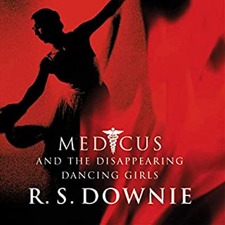 Medicus and the Disappearing Dancing Girls audiobook cover art