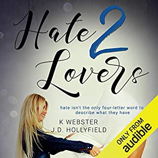 Hate 2 Lovers audiobook cover art
