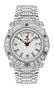 NEW! Aqua Master Men's Magnum Automatic Diamond Watch with Skeleton Back, 22.00 ctw