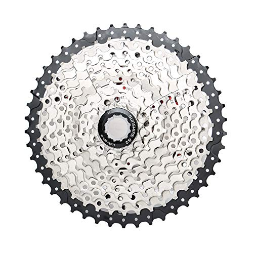 CLOUDH 10 Velocidad Cassette MTB 11-46T Mosca de La Rueda de 10 Velocidades Compatible para Shimano SRAM Bicicleta de Montaña MTB de La Bicicleta (M590, M610, M6000, SLX M670, M675, X5, X7, X9)