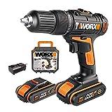 Worx WX371 - Taladro de impacto (20 V), 20.00V