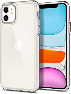 Spigen Ultra Hybrid Funda Compatible con Apple iPhone 11 (6.1) 2019 - Transparente