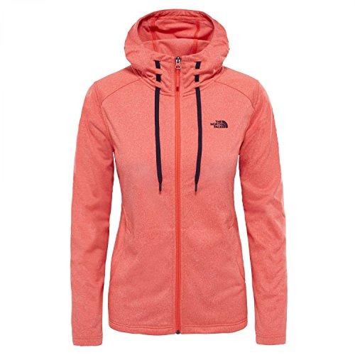The North Face Tech Mezzaluna Sweat-shirt à capuche Femme Rouge FR : XS (Taille Fabricant : XS)