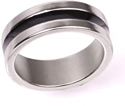 Doowops Strong Magnetic Engraved PK Ring Magician Accessory Close Up Stage Magic Trick Gimmick Props