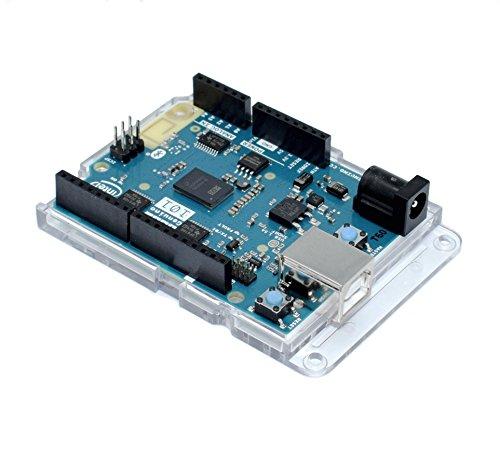 Premium transparente Bumper Hülle für Arduino UNO, Leonardo, Zero, M0, Ethernet, Genuino und alle UNO Form Boards - ROHS konform