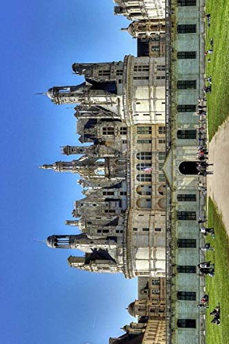 Château de Chambord Notebook, Journal, Diary - Classic Writing 120 Lined Pages #4: Famous Places Unique Art Masterpiece Sculpture Paintings Marvelous ... Notebook (Château de Chambord Notebooks)
