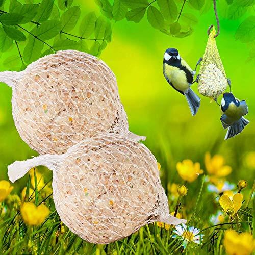 Lyra Pet® 200 Stück Gourmet Meisenknödel schalenfrei mit Netz á 85 g Wildvögel
