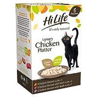 100% Natural Ingredients 60% Real Chicken Breast Hand Prepared & Grain Free No Soya & No GMOs No Artificial Additives