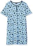 Ulla Popken Damen große Größen Big-Shirt 2er Pack, Sterne Nachthemd, multicolor, 46+