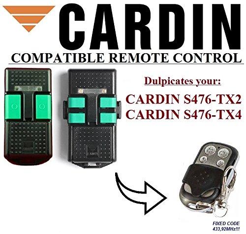 CARDIN S476-TX2 / S476-TX4 kompatibel handsender, klone fernbedienung, 4-kanal 433,92Mhz fixed code. Top Qualität Kopiergerät!!!