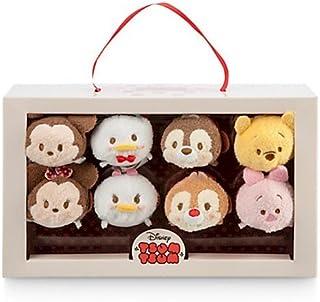 Disney Mickey Mouse and Friends Valentine Candy Box ''Tsum Tsum'' Plush Set - Mini - 3 1/2''