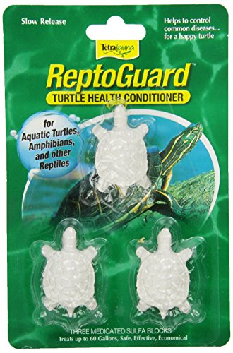 TetraFauna ReptoGuard Turtle Health Conditioner 3 Count, Slow-Release (19514)
