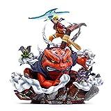 CFSAFAA Giocattolo Modello da Collezione Naruto Action Figure Resina 3D One Piece Figura Hand Model (Color : Customized Color)