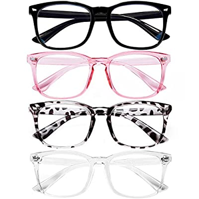 Amazon - Save 40%: Blue Light Blocking Glasses for Women/Men/FEIDU 4-Pack Computer Gaming…