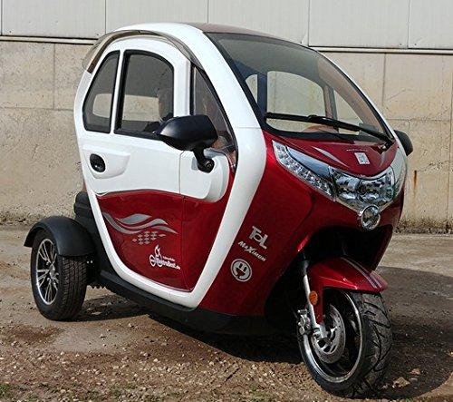 Scooter Elektroauto Kabinenroller E-Mobil mit Dach kaufen  Bild 1*