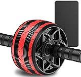 Rueda Abdominales Home Fitness Equipment Body Fitness Formal Formación Herramienta de Gimnasio mwsoz (Color : Red, Talla : One Size)