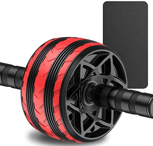 ZHEYANG Rodillo Abdominales Fitness Home Fitness Equipment Body Fitness Formal Formación Herramienta de Gimnasio (Color : Red, Talla : One Size)