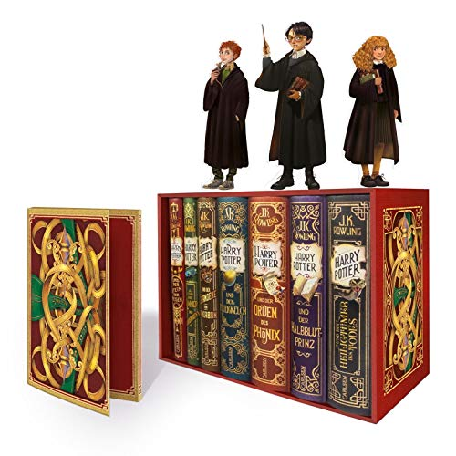 Harry Potter: Band 1-7 im Schuber – mit exklusivem Extra! (Harry Potter)